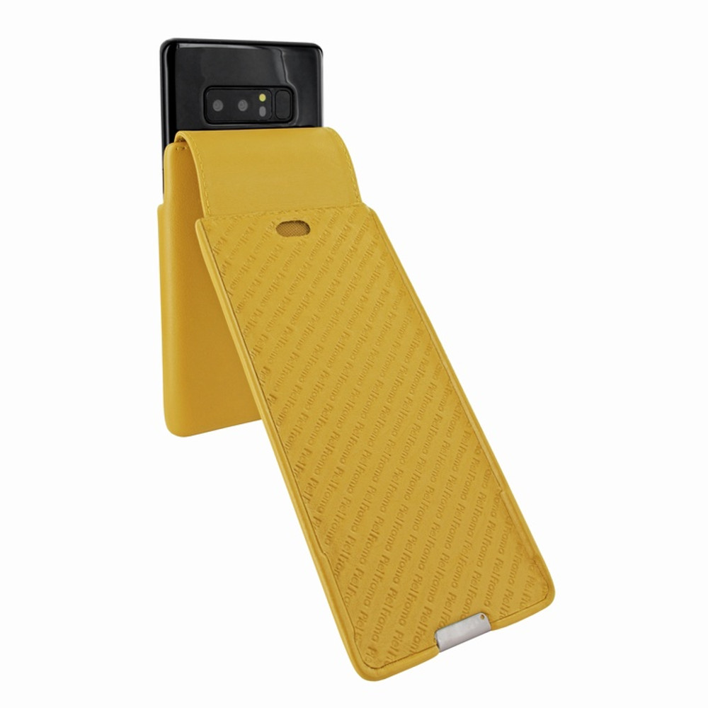 Piel Frama Samsung Galaxy Note 8 iMagnum Leather Case - Yellow