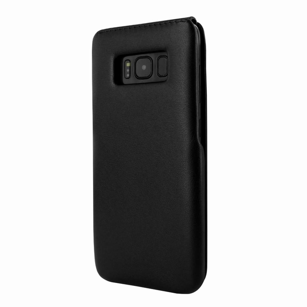 Piel Frama Samsung Galaxy S8 Plus iMagnum Leather Case - Black