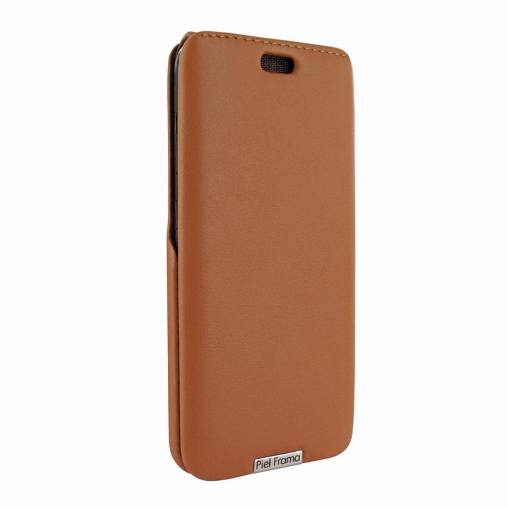 Piel Frama Samsung Galaxy S8 Plus iMagnum Leather Case - Tan