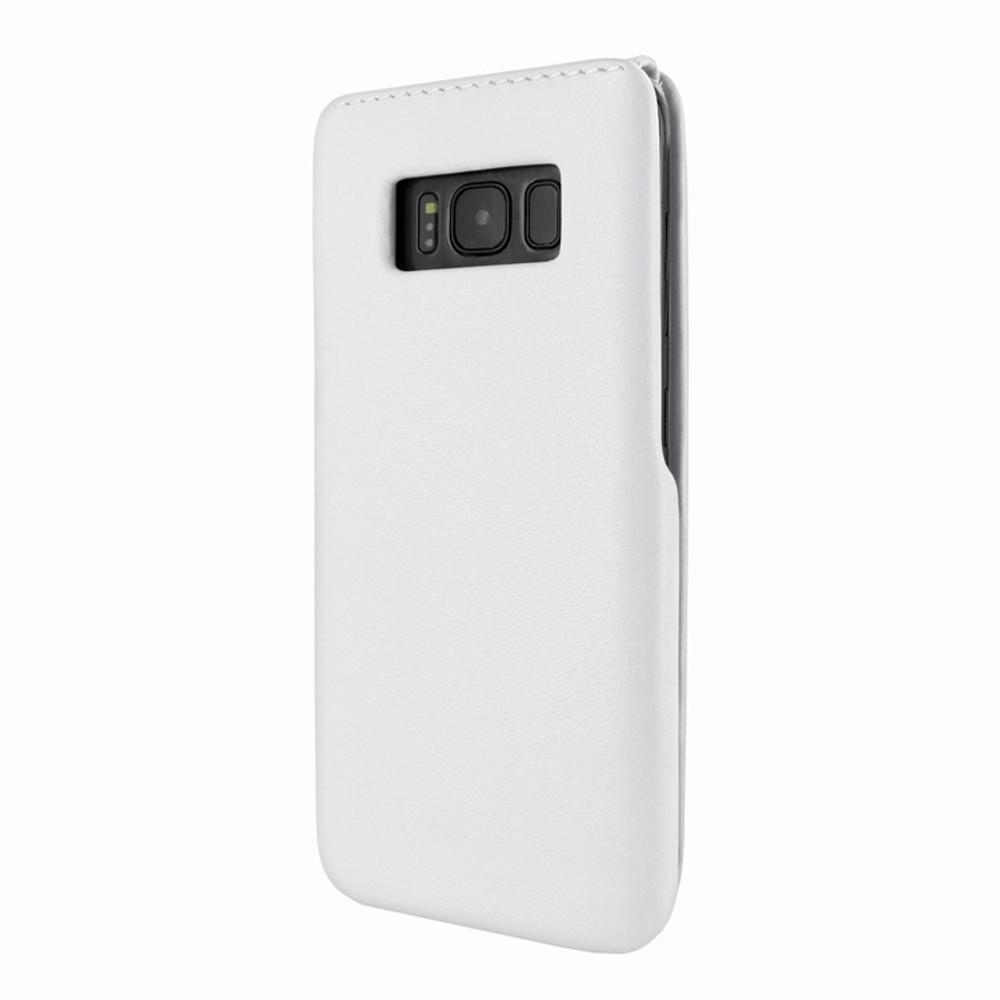 Piel Frama Samsung Galaxy S8 Plus iMagnum Leather Case - White