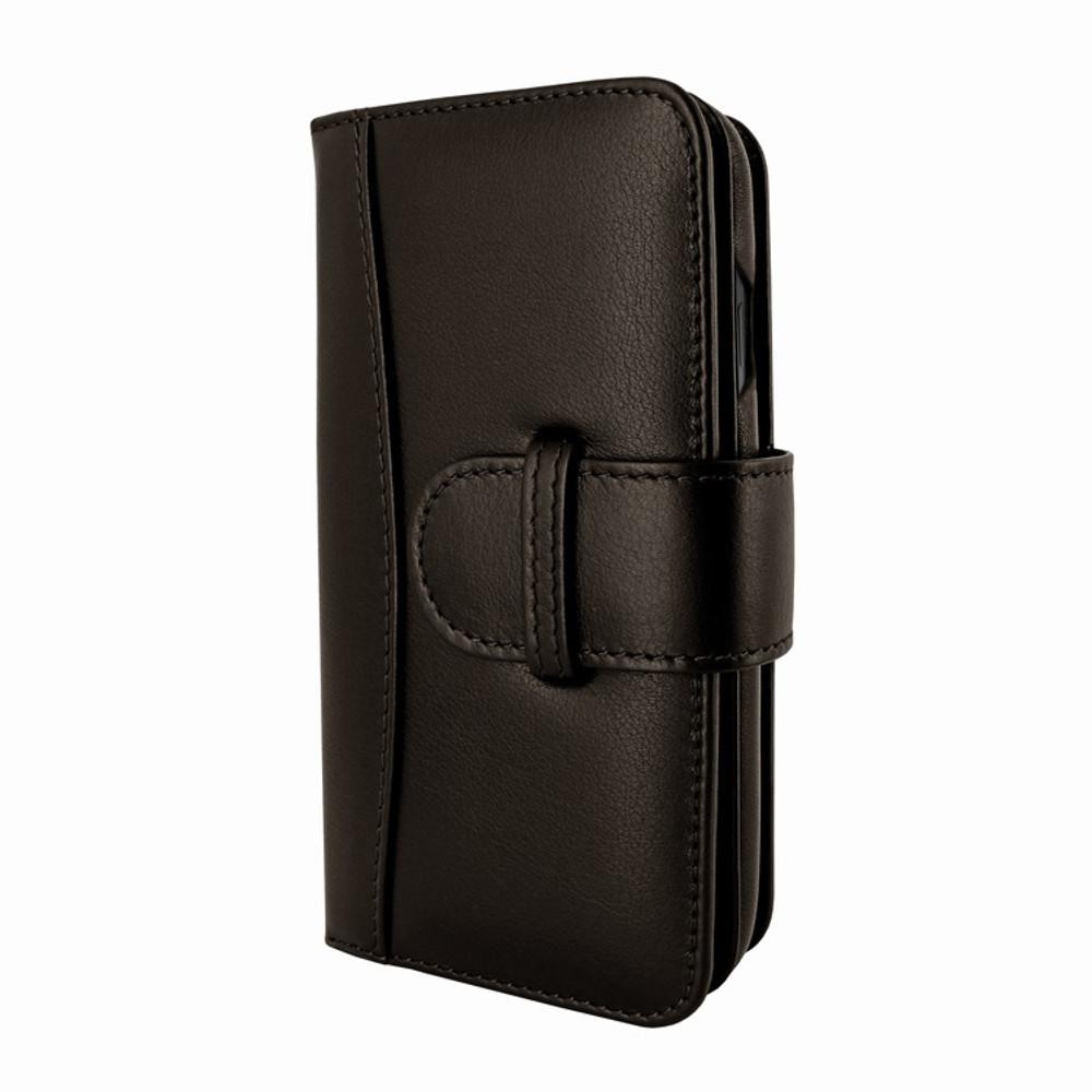Piel Frama iPhone XR WalletMagnum Leather Case - Brown