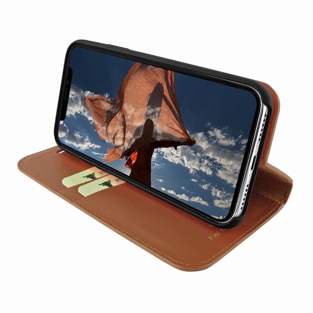 Piel Frama iPhone XR FramaSlimCards Leather Case - Tan