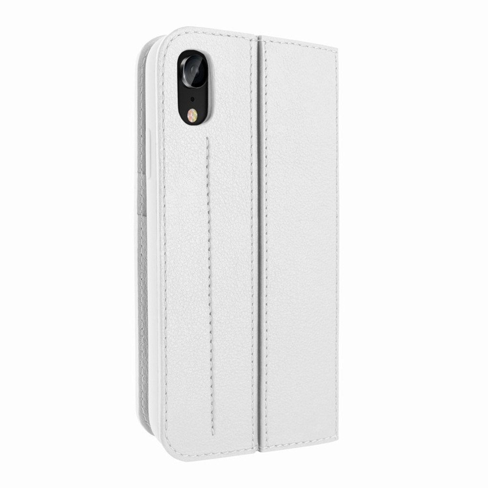 Piel Frama iPhone XR FramaSlimCards Leather Case - White