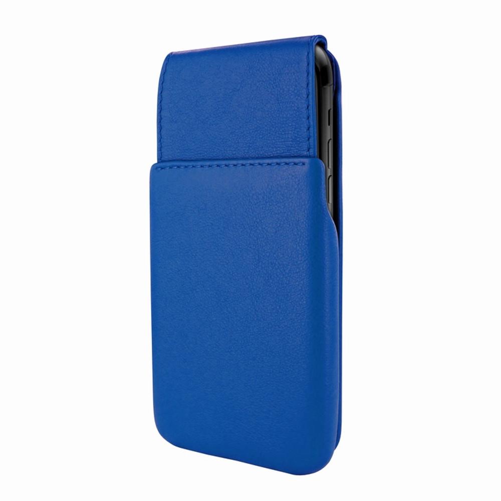 Piel Frama iPhone XR iMagnum Leather Case - Blue