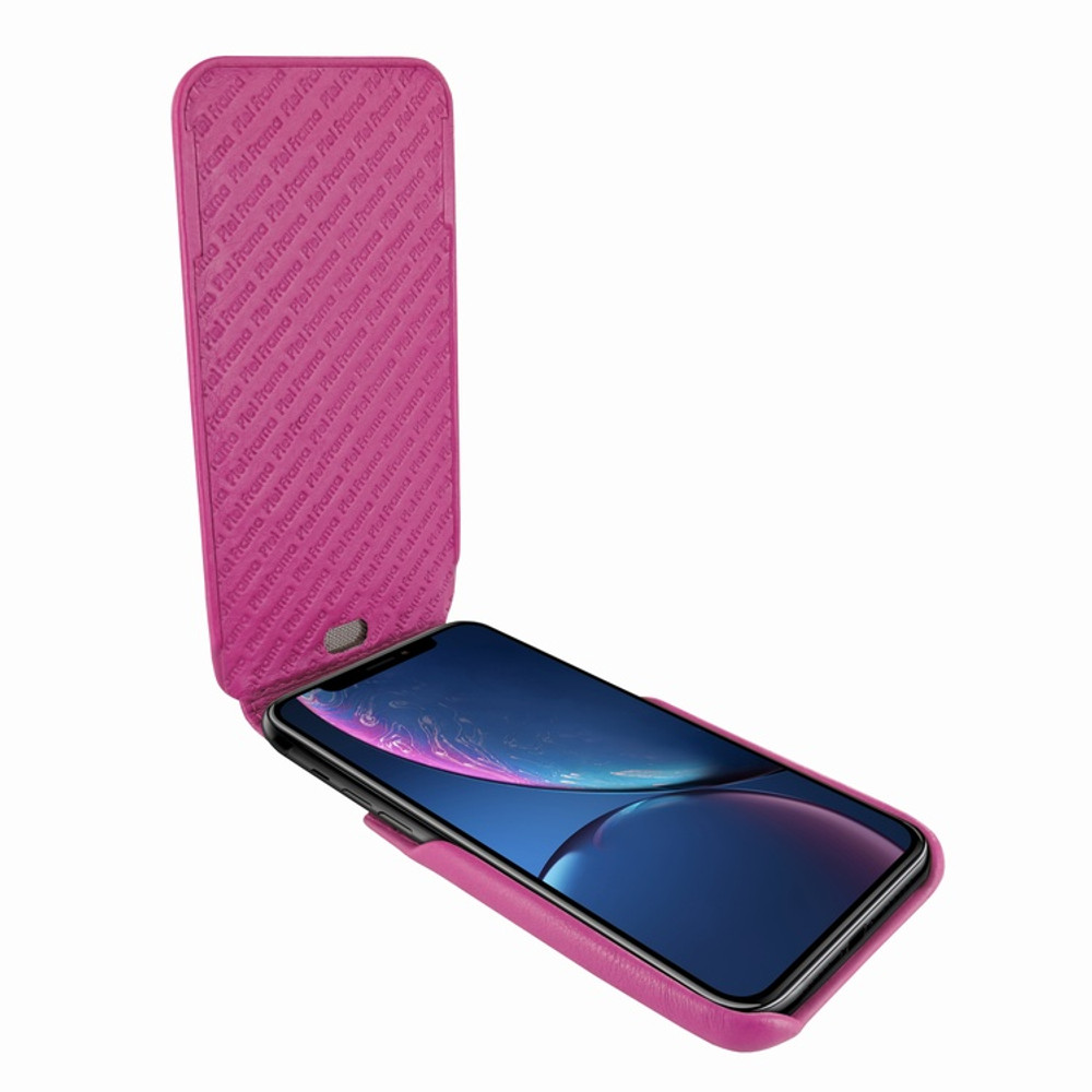 Piel Frama iPhone XR iMagnum Leather Case - Fuchsia