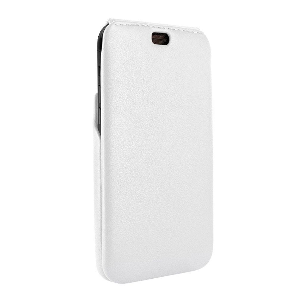 Piel Frama iPhone XR iMagnum Leather Case - White