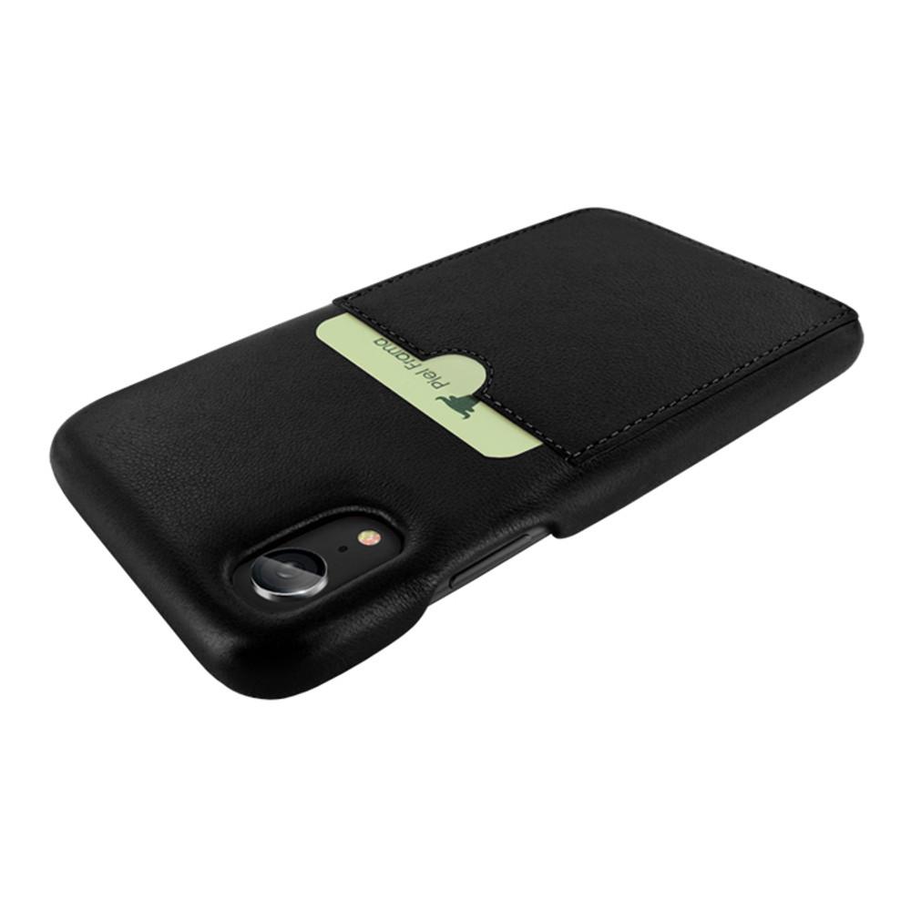 Piel Frama iPhone XR FramaSlimGrip Leather Case - Black
