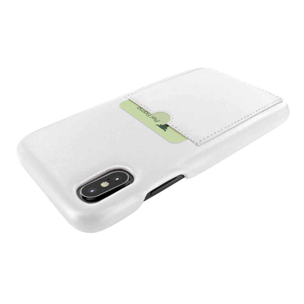 Piel Frama iPhone Xs Max FramaSlimGrip Leather Case - White