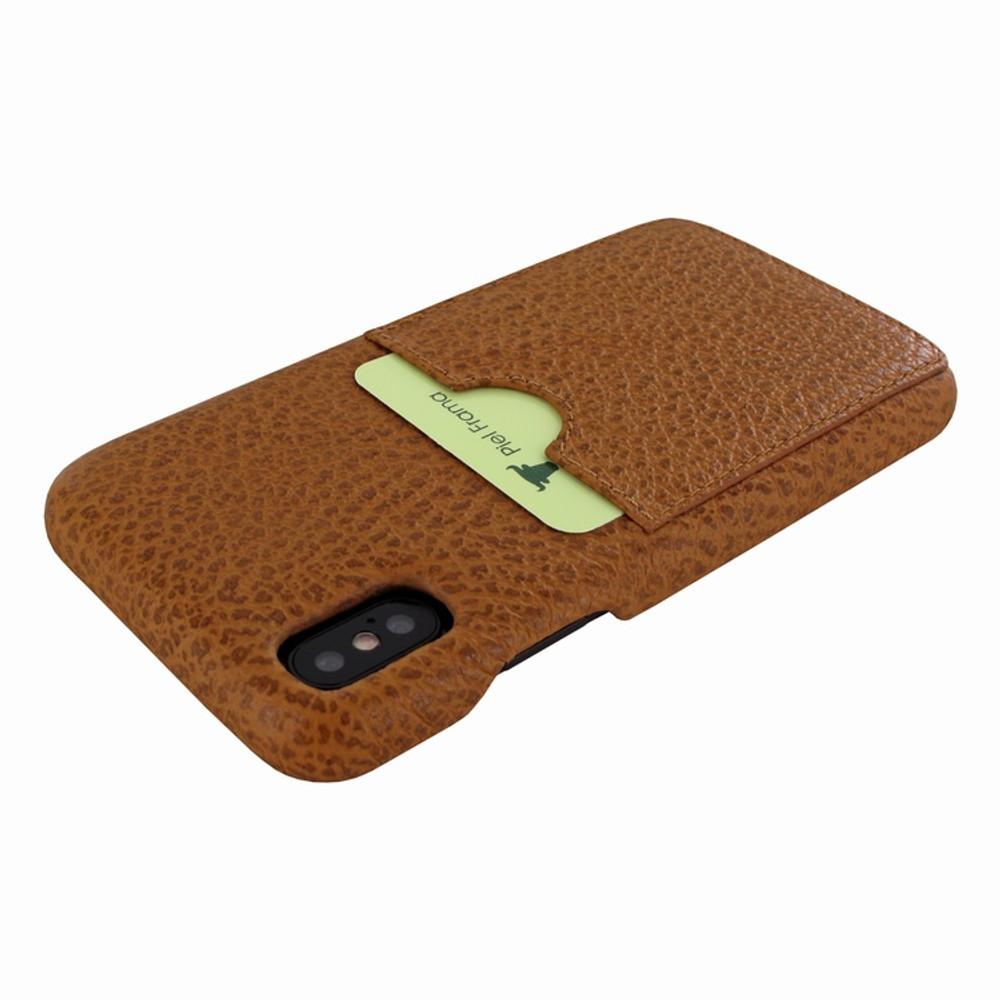 Piel Frama iPhone Xs Max FramaSlimGrip Leather Case - Tan iForte