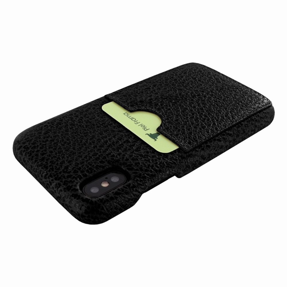 Piel Frama iPhone Xs Max FramaSlimGrip Leather Case - Black iForte