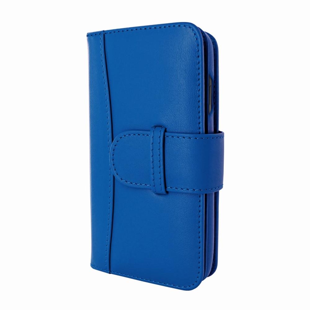 Piel Frama iPhone Xs Max WalletMagnum Leather Case - Blue