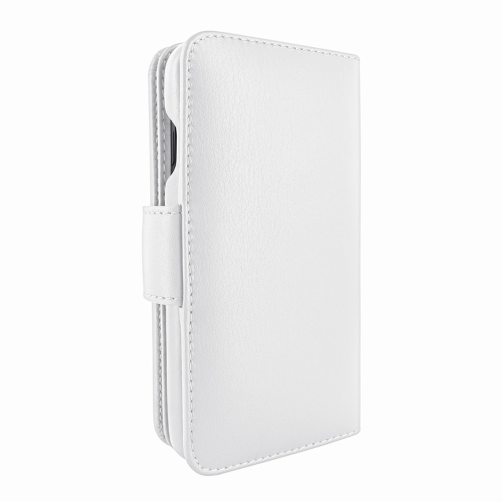 Piel Frama iPhone Xs Max WalletMagnum Leather Case - White
