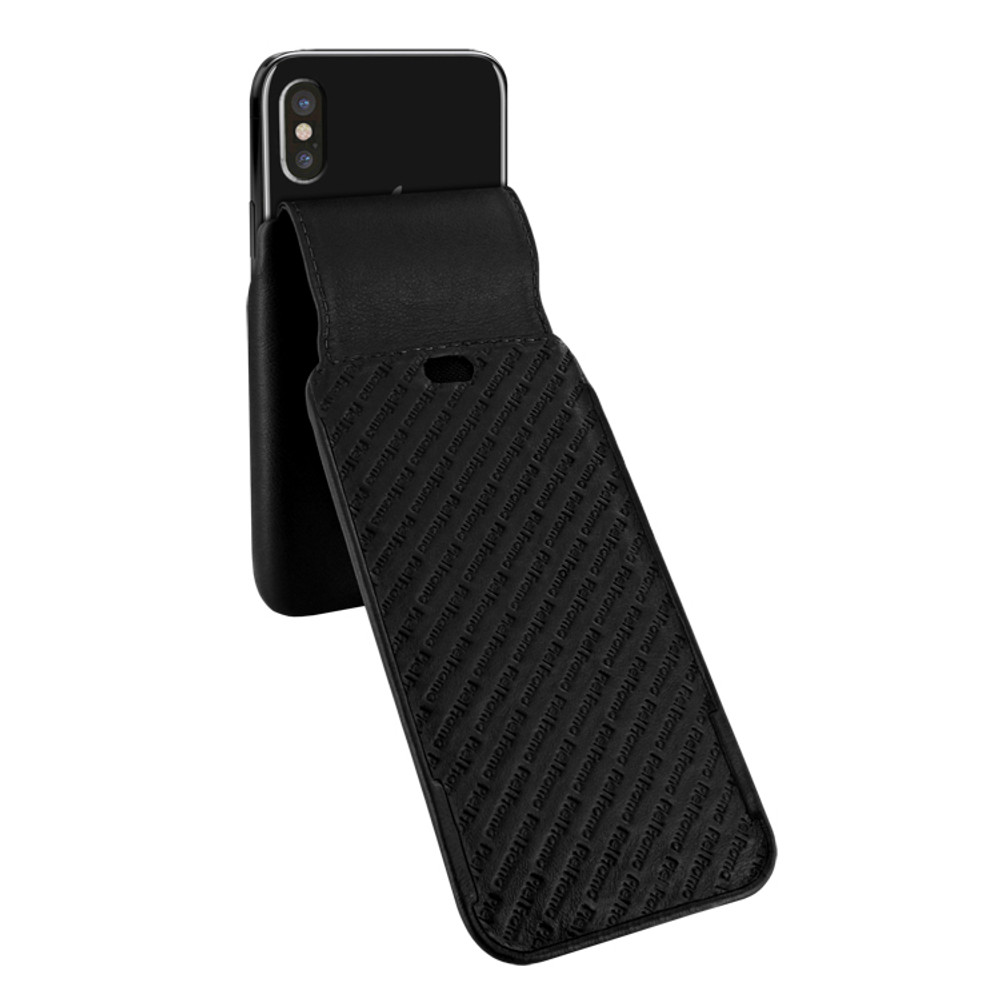 Piel Frama iPhone Xs Max iMagnum Leather Case - Black