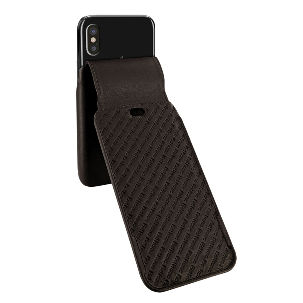 Piel Frama iPhone Xs Max iMagnum Leather Case - Brown