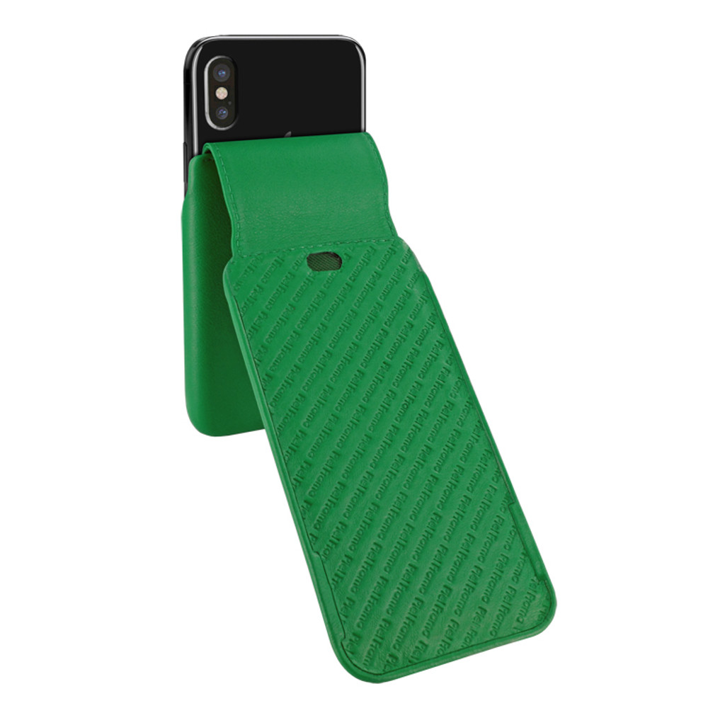Piel Frama iPhone Xs Max iMagnum Leather Case - Green