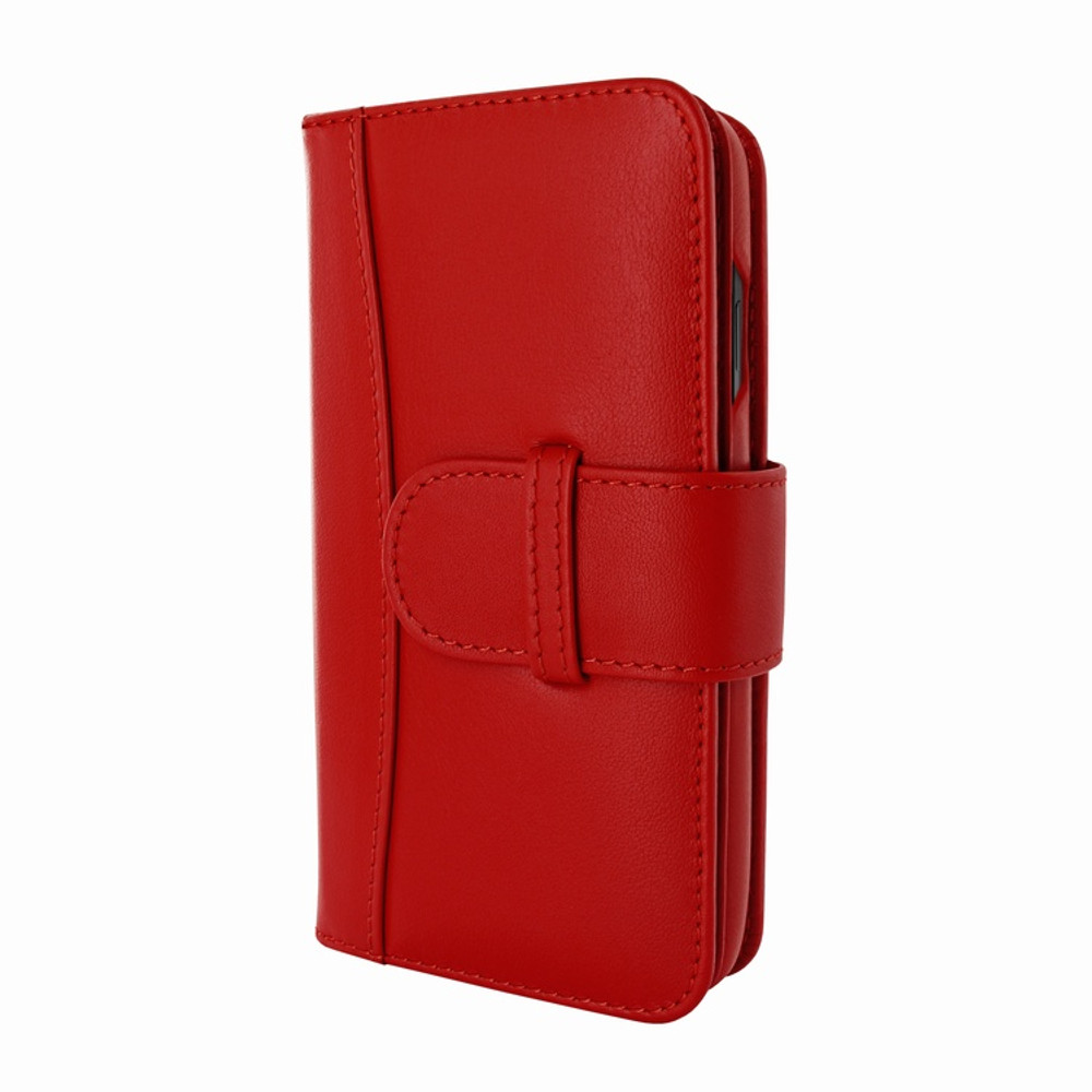 Piel Frama iPhone 11 Pro WalletMagnum Leather Case - Red