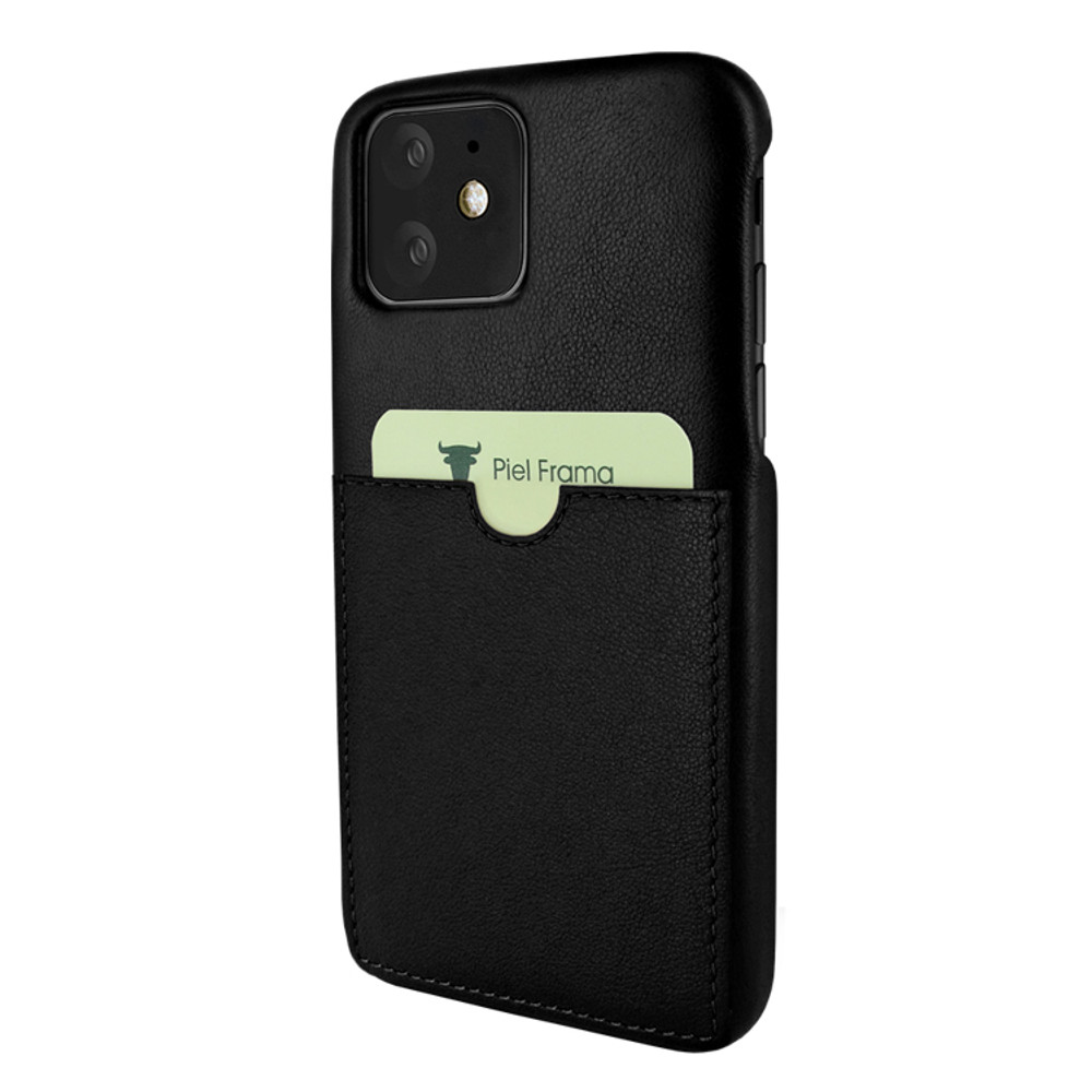 Piel Frama iPhone 11  FramaSlimGrip Leather Case - Black