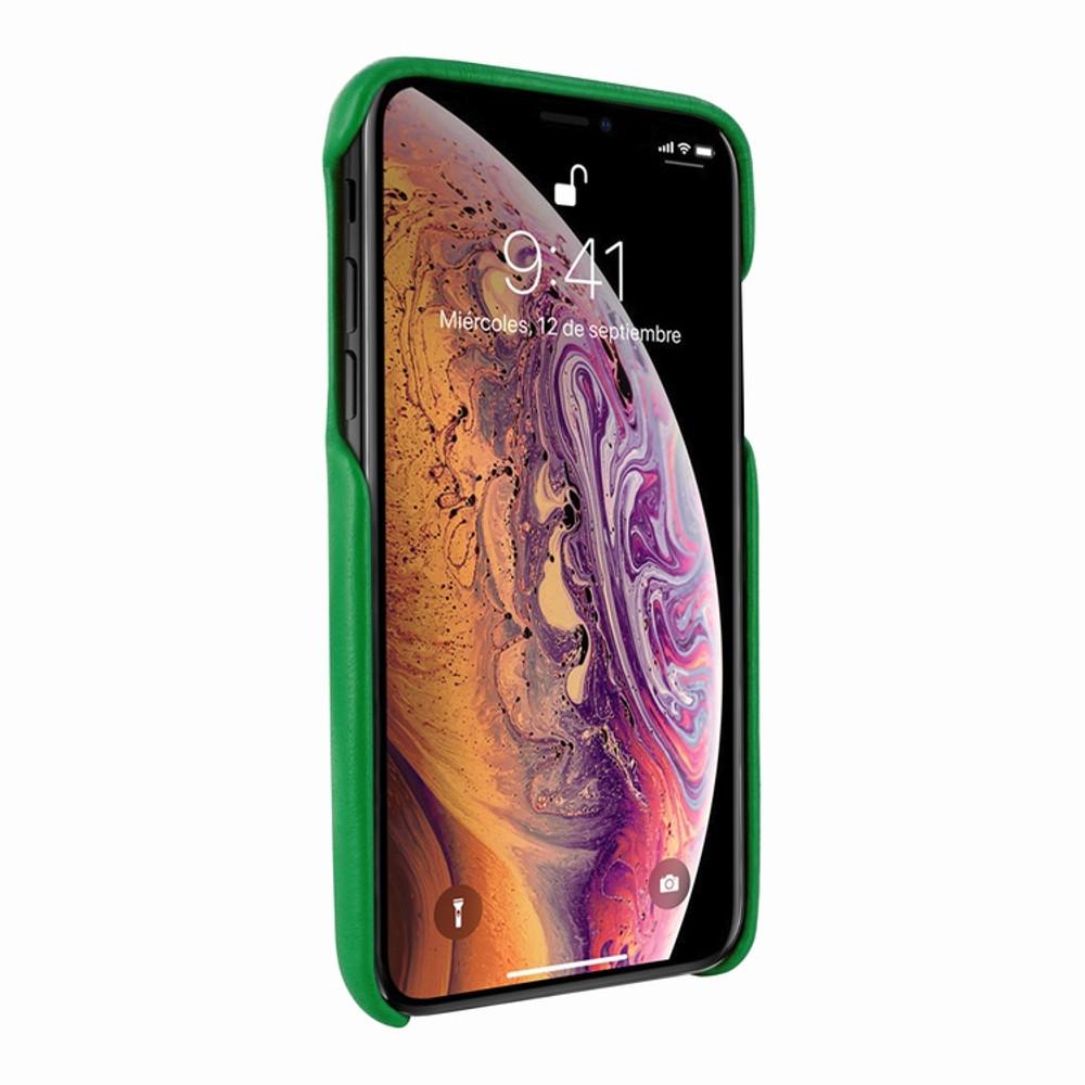Piel Frama iPhone 11  FramaSlimGrip Leather Case - Green