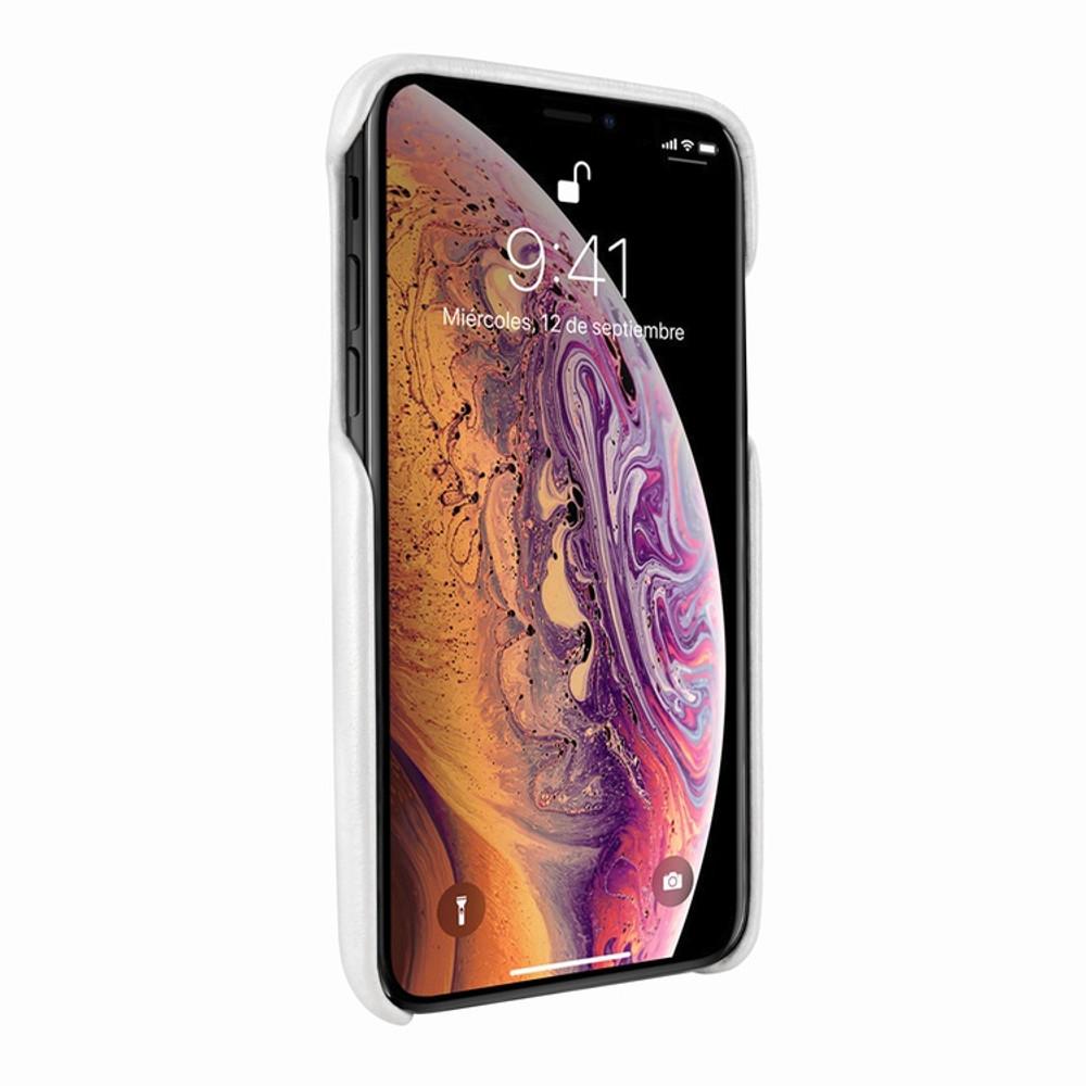 Piel Frama iPhone 11  FramaSlimGrip Leather Case - White