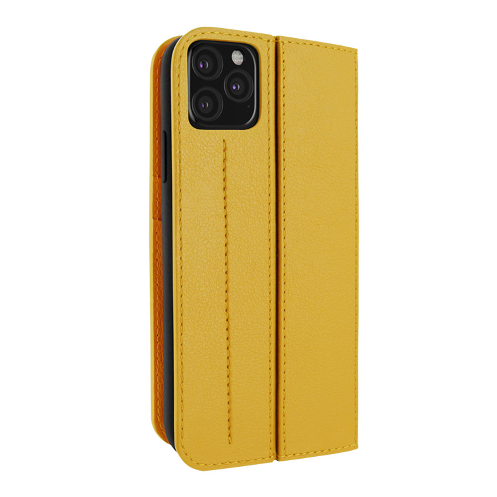 Piel Frama iPhone 11 Pro Max FramaSlimCards Leather Case - Yellow
