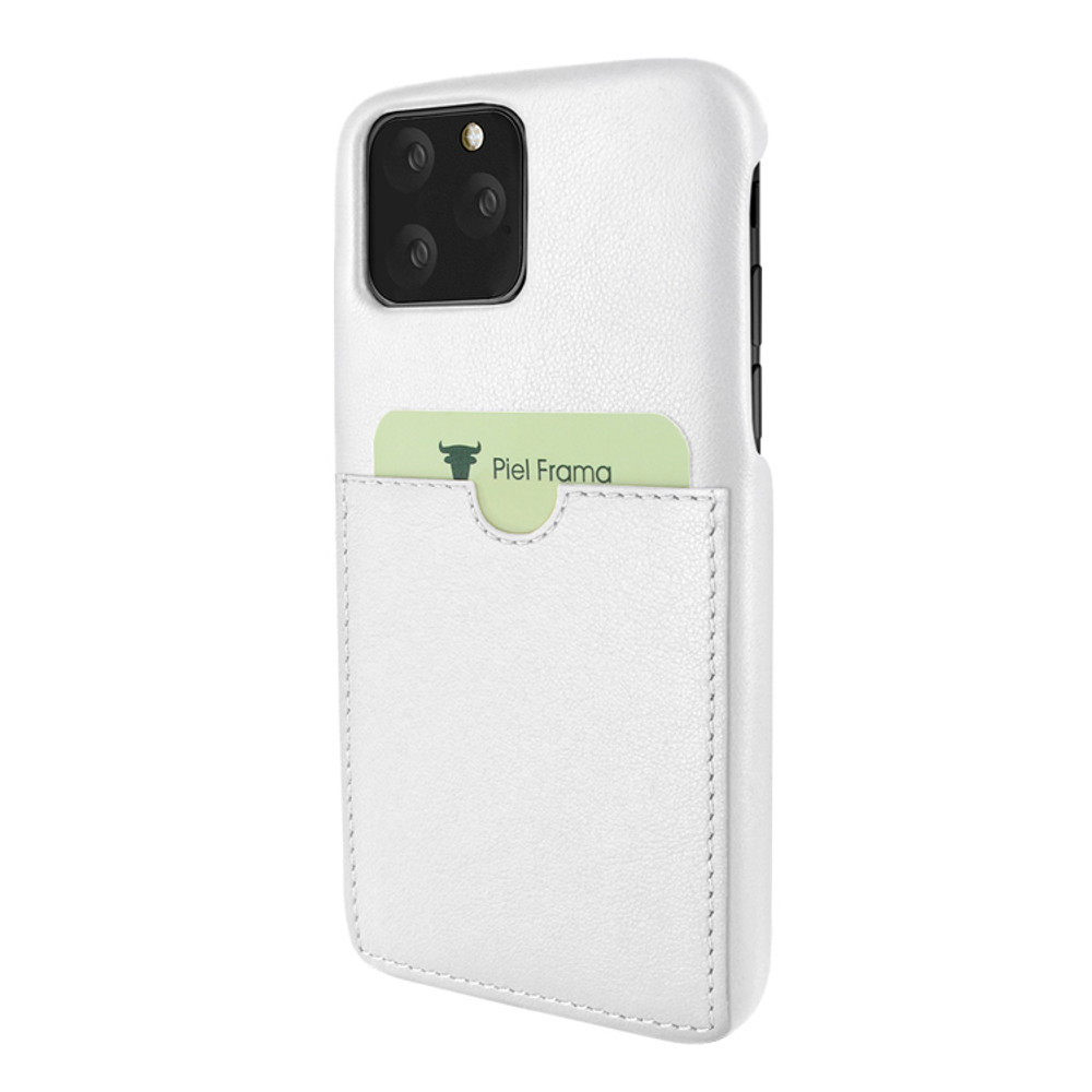 Piel Frama iPhone 11 Pro Max FramaSlimGrip Leather Case - White