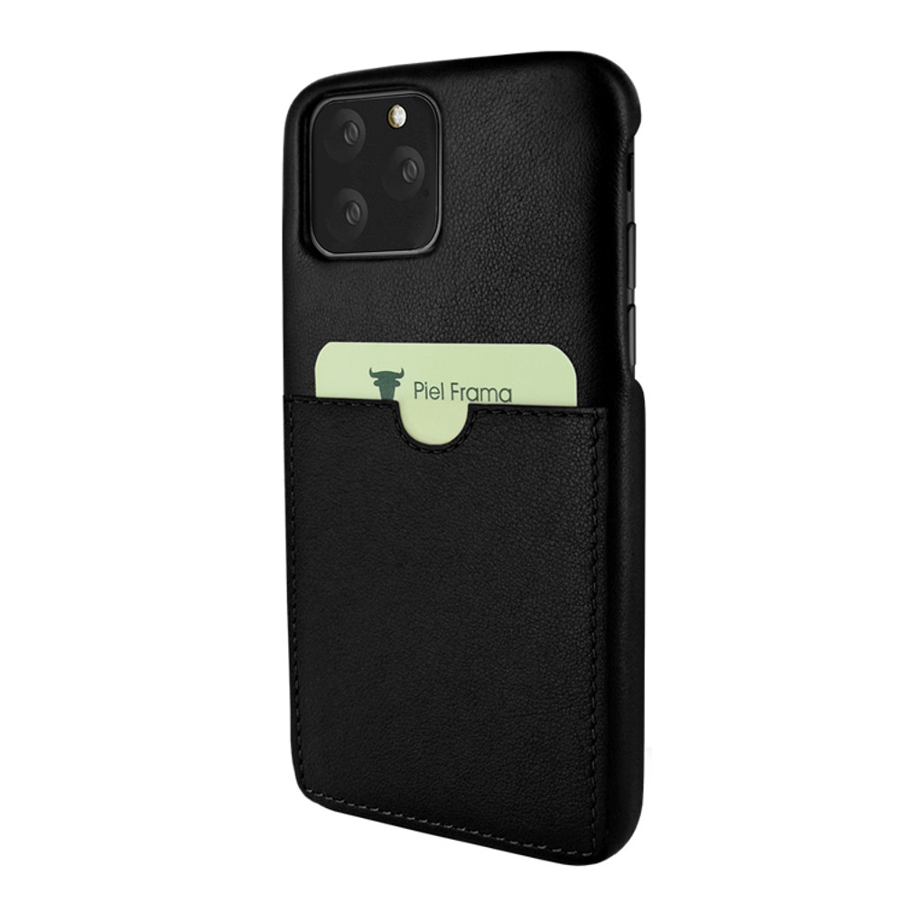 Piel Frama iPhone 11 Pro FramaSlimGrip Leather Case - Black