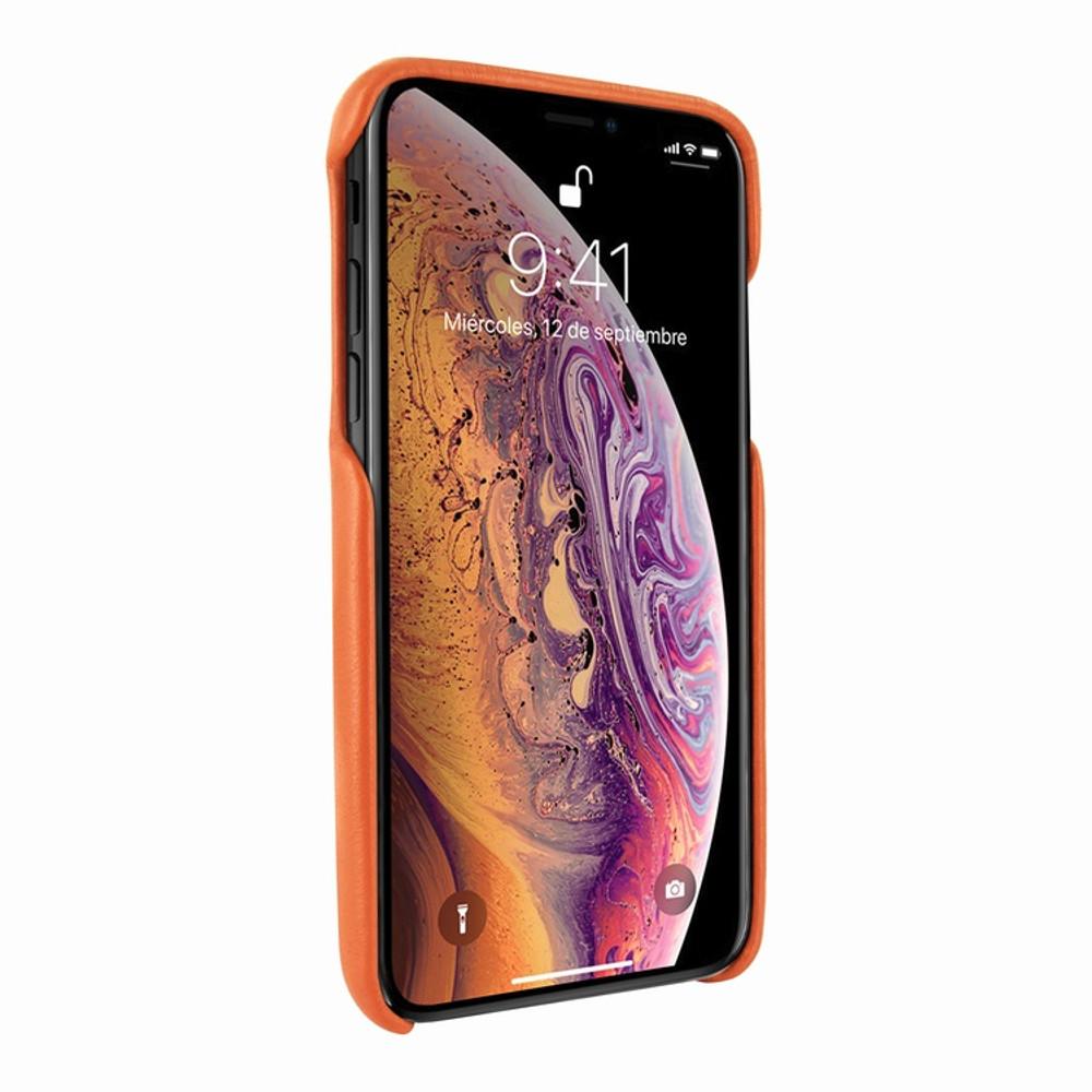 Piel Frama iPhone 11 Pro FramaSlimGrip Leather Case - Orange