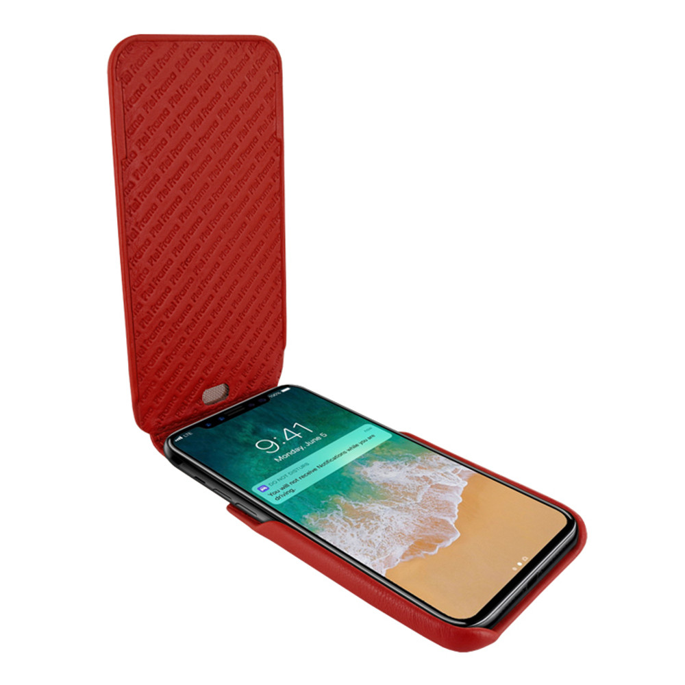 Piel Frama iPhone 11 Pro iMagnum Leather Case - Red