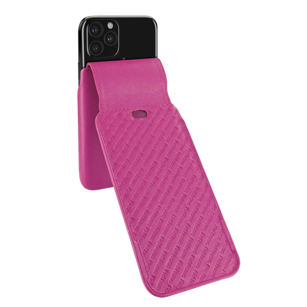 Piel Frama iPhone 11 Pro iMagnum Leather Case - Fuchsia