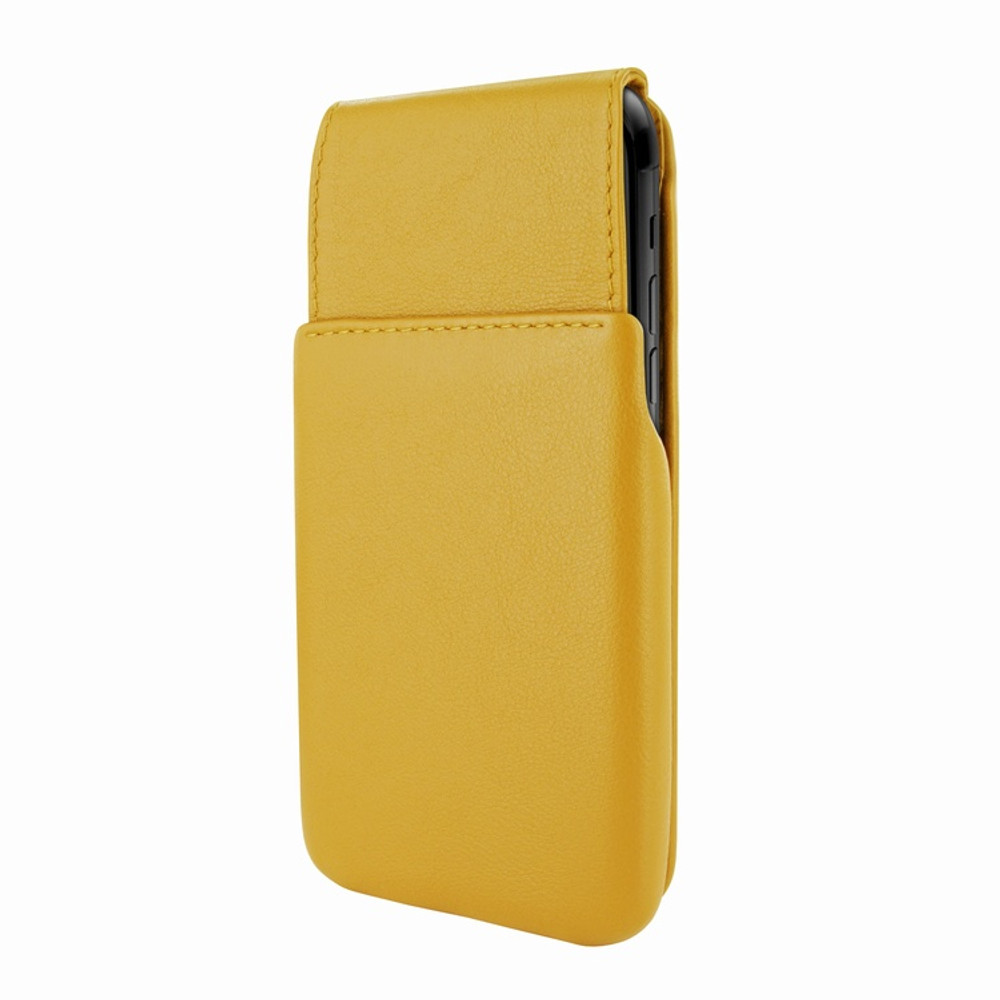 Piel Frama iPhone 11 Pro iMagnum Leather Case - Yellow