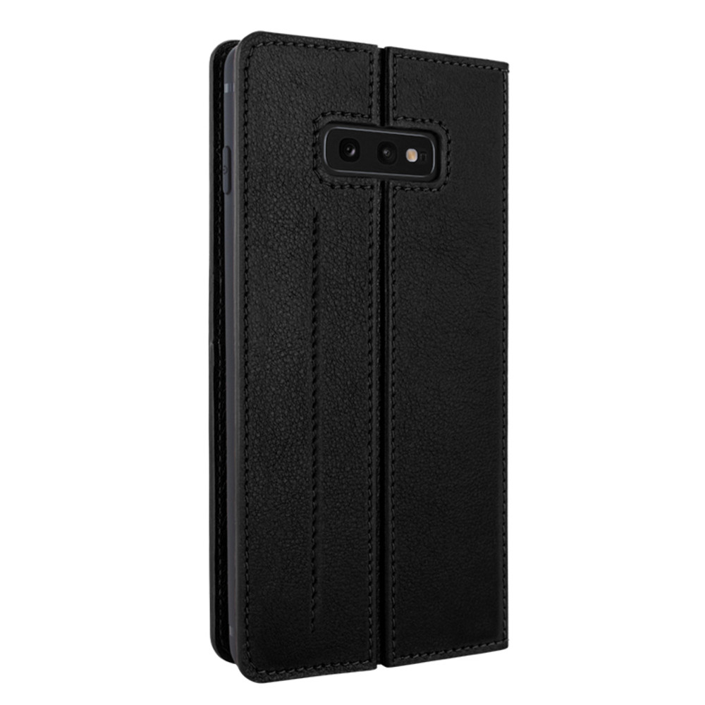 Piel Frama Samsung Galaxy S10e FramaSlimCards Leather Case - Black