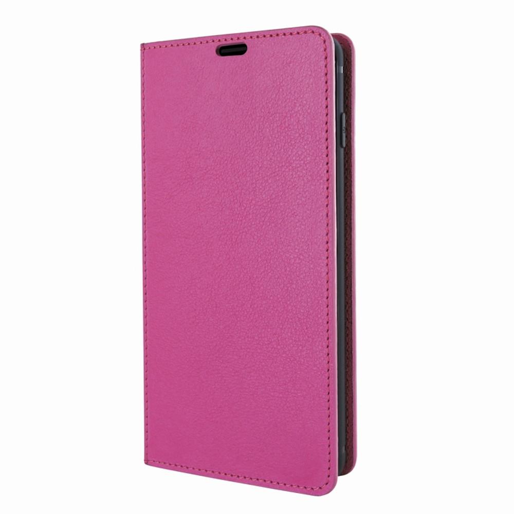 Piel Frama Samsung Galaxy S10e FramaSlimCards Leather Case - Fuchsia