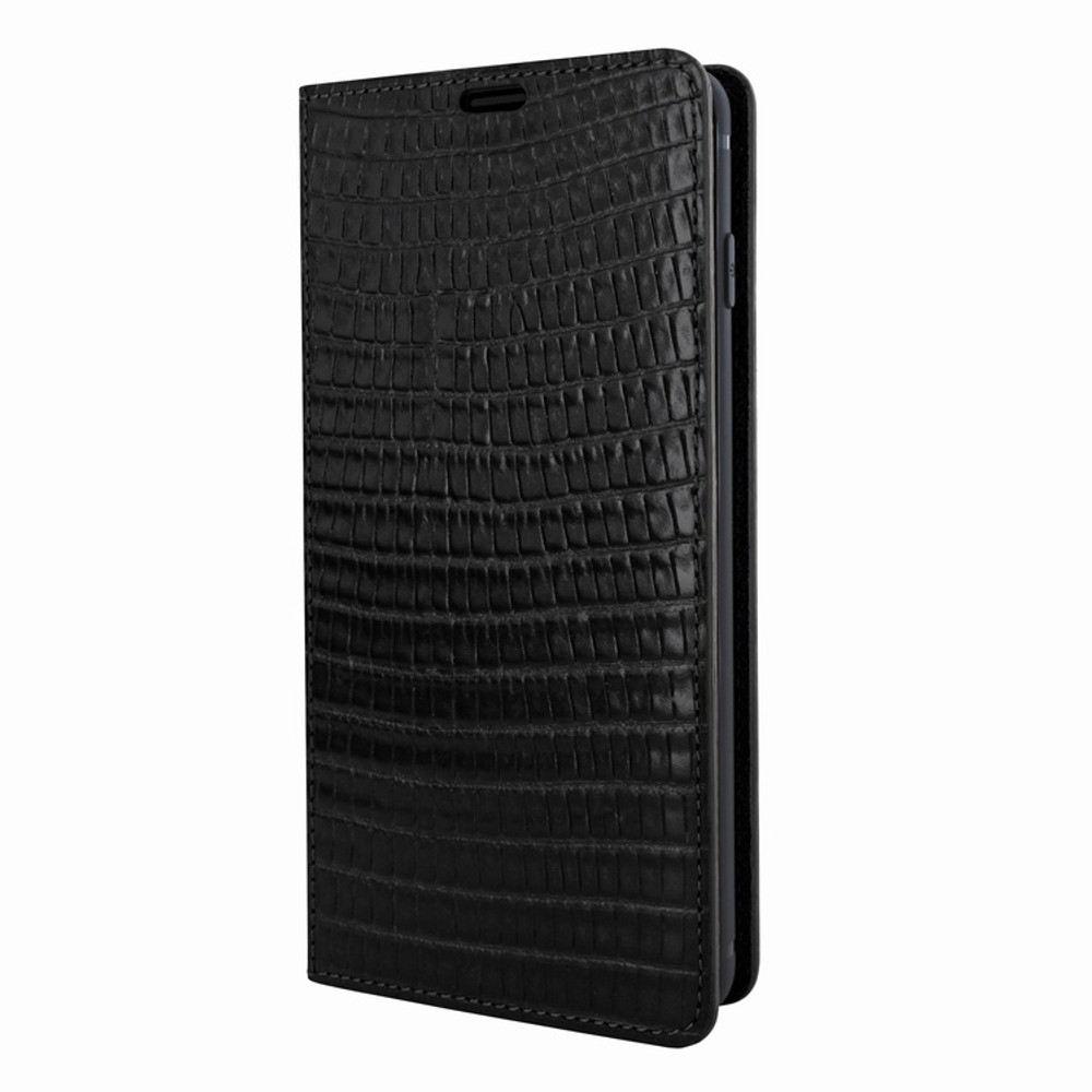 Piel Frama Samsung Galaxy S10e FramaSlimCards Leather Case - Black Cowskin-Lizard