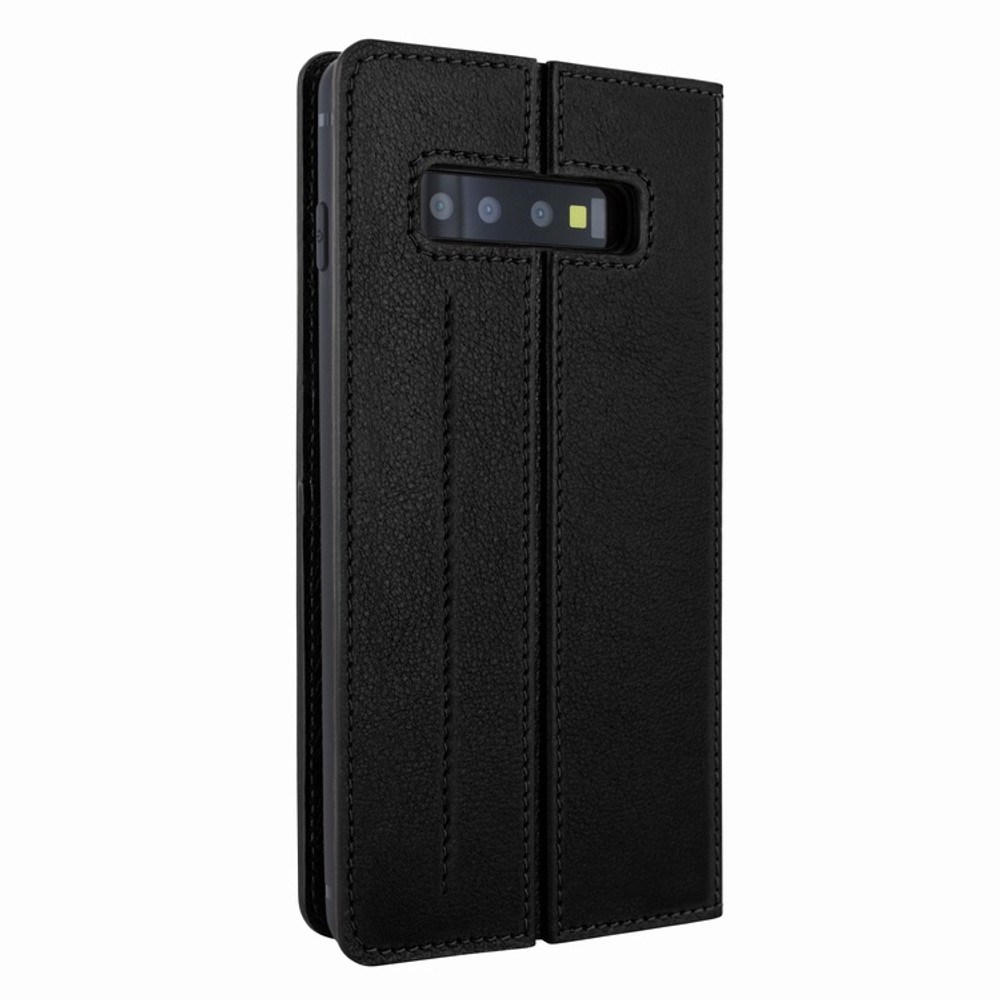 Piel Frama Samsung Galaxy S10 PLUS FramaSlimCards Leather Case - Black