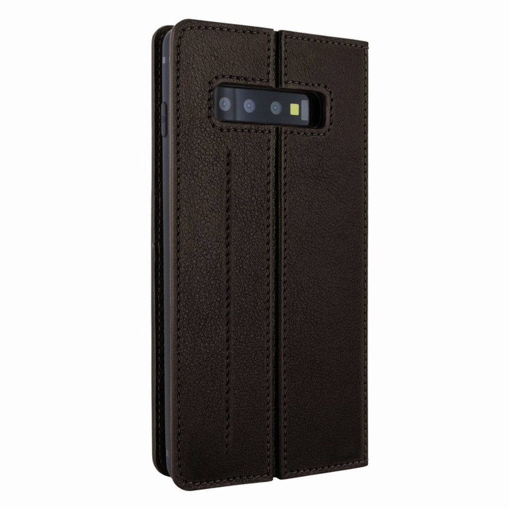 Piel Frama Samsung Galaxy S10 PLUS FramaSlimCards Leather Case - Brown
