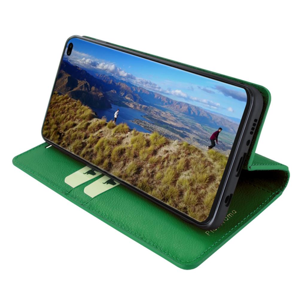 Piel Frama Samsung Galaxy S10 PLUS FramaSlimCards Leather Case - Dark Green
