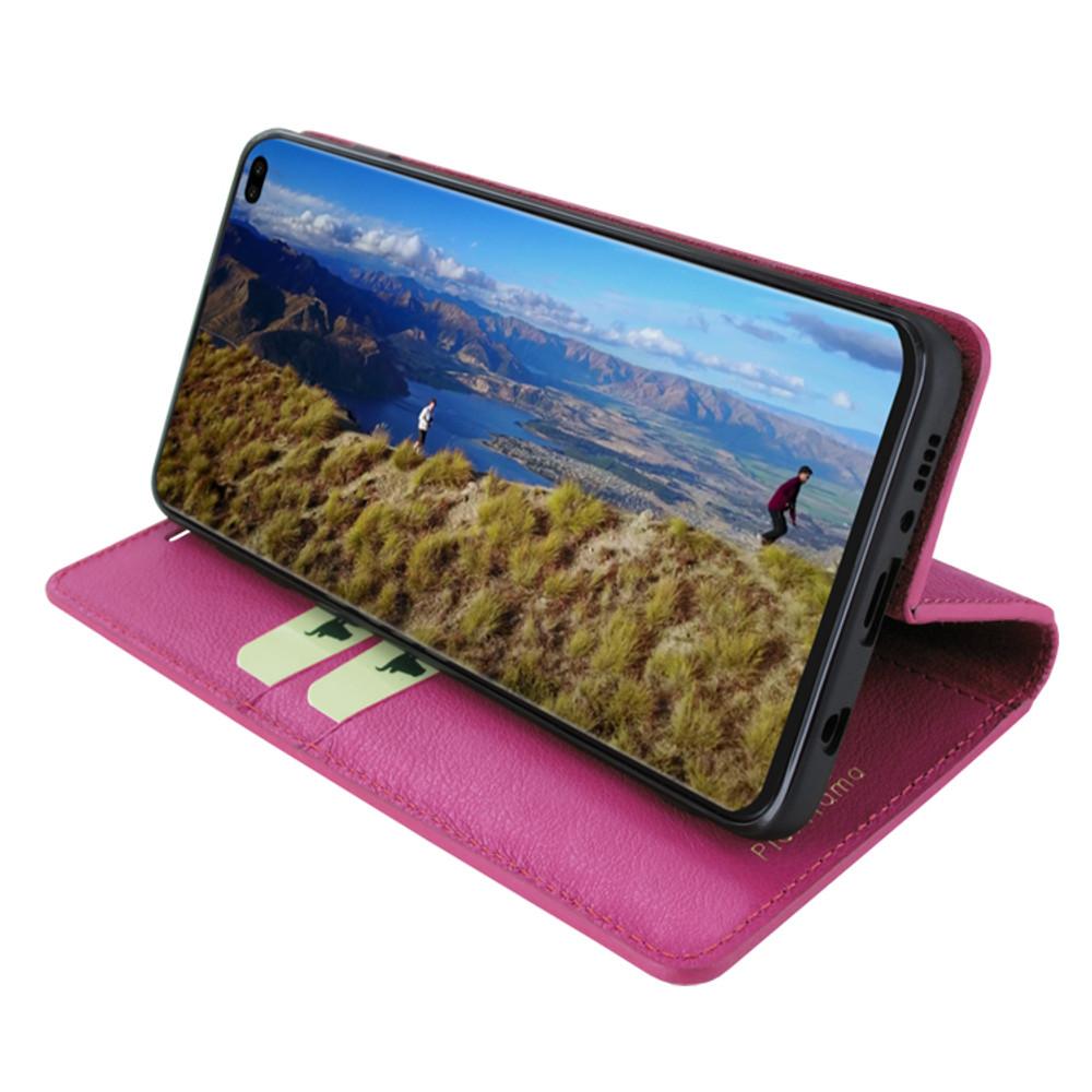 Piel Frama Samsung Galaxy S10 PLUS FramaSlimCards Leather Case - Fuchsia