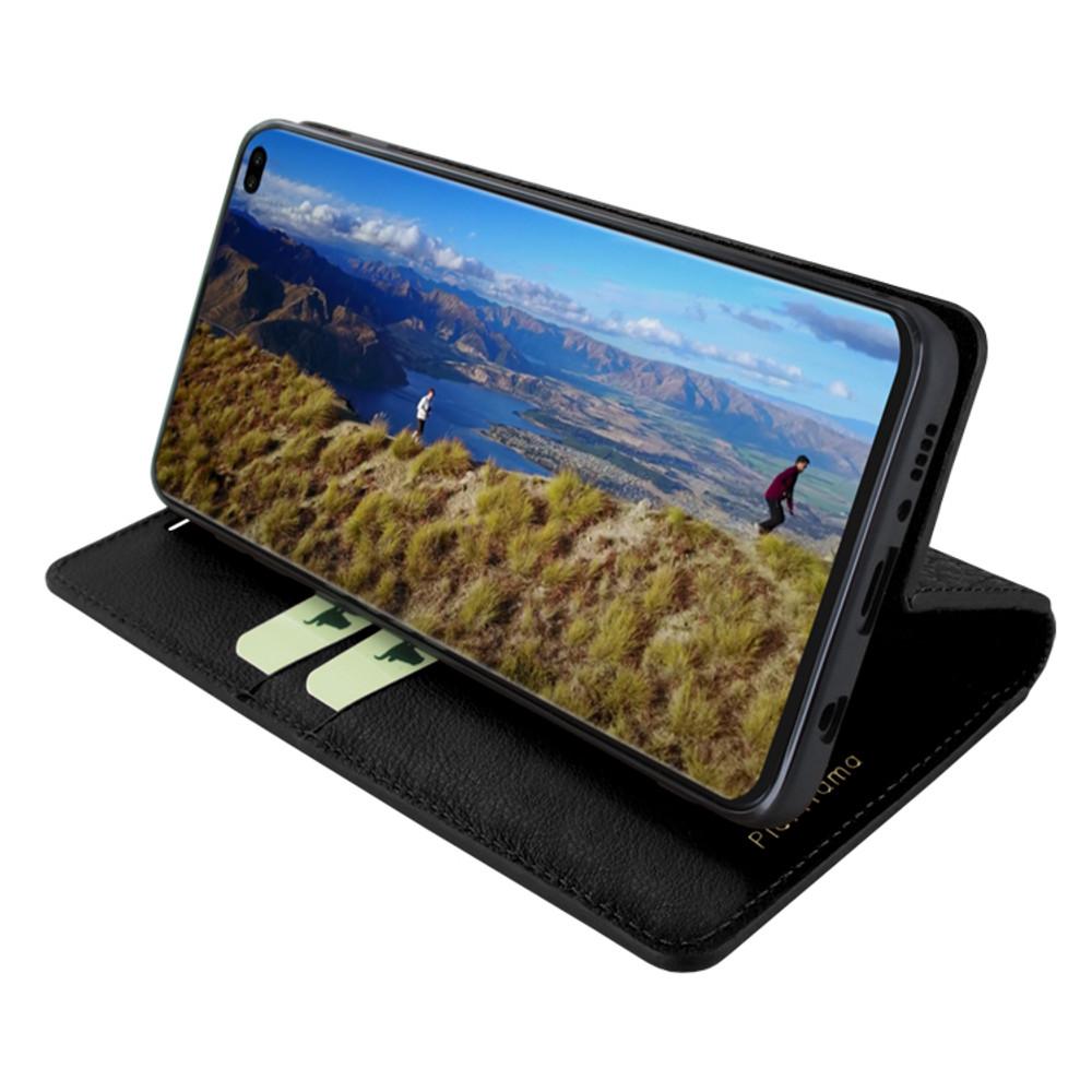 Piel Frama Samsung Galaxy S10 PLUS FramaSlimCards Leather Case - Black iForte