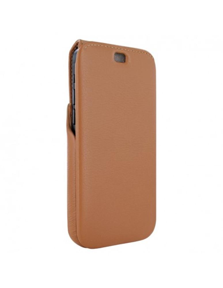 Piel Frama iPhone 13 Pro Max iMagnum Leather Case - Tan