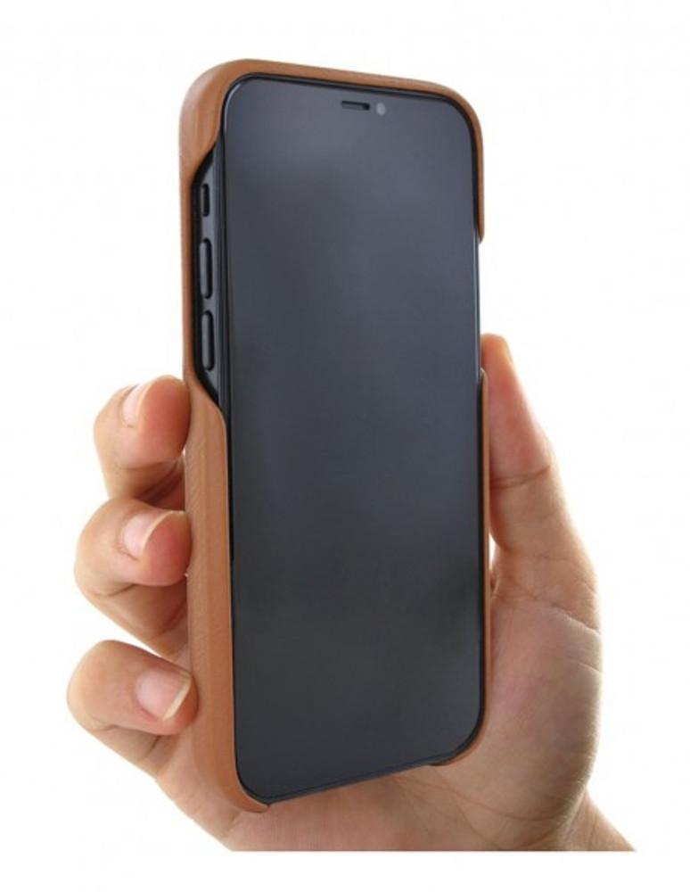 Piel Frama iPhone 13 Pro Max FramaSlimGrip Leather Case - Tan