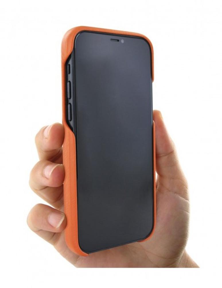 Piel Frama iPhone 13 Pro Max FramaSlimGrip Leather Case - Orange