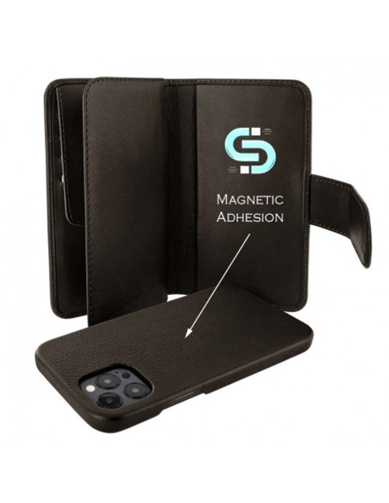 Piel Frama iPhone 13 Pro WalletMagnum Leather Case - Brown