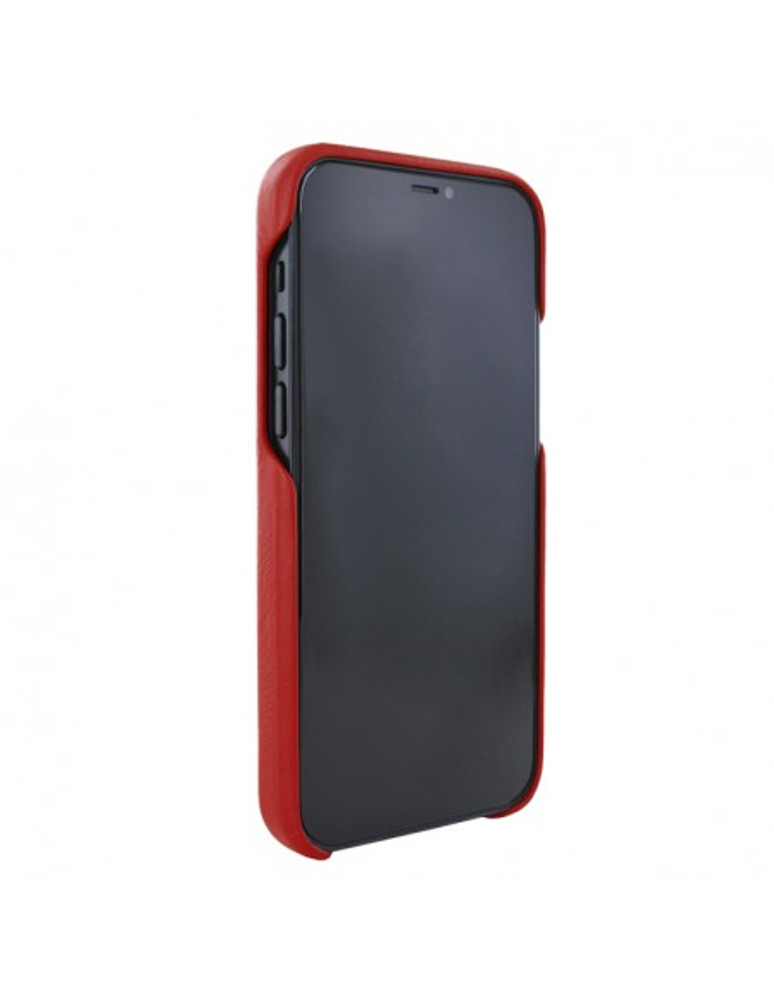 Piel Frama iPhone 13 Luxinlay Leather Case - Red Crocodile
