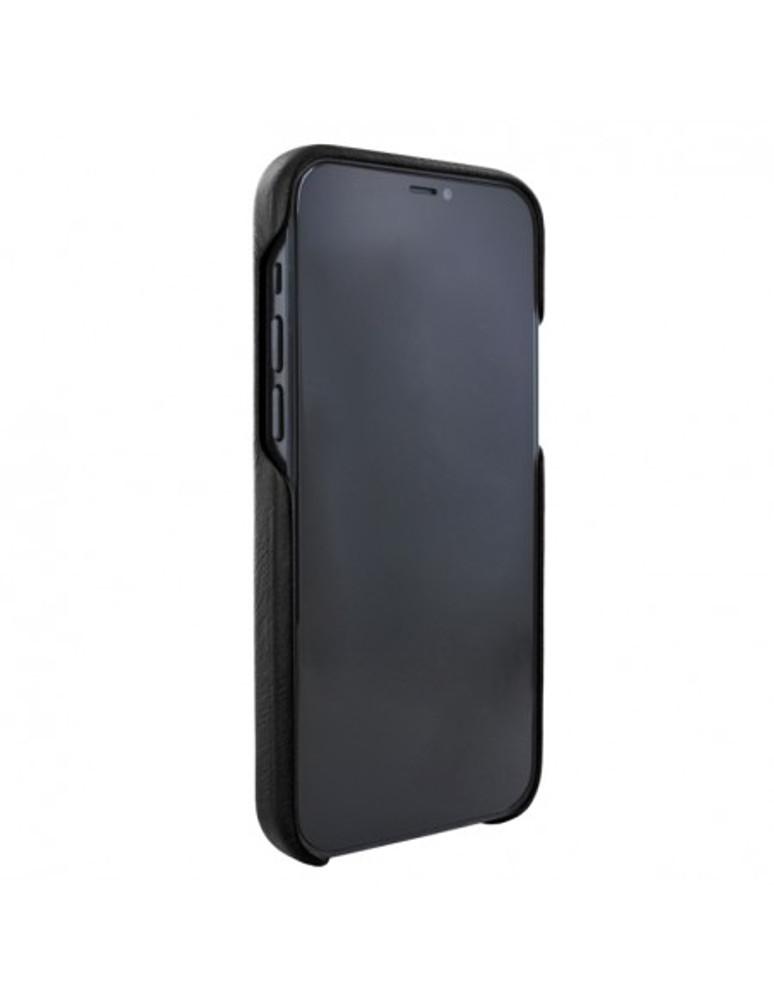 Piel Frama iPhone 13 Luxinlay Leather Case - Black Lizard