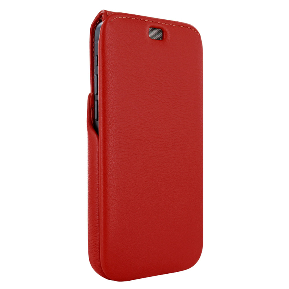 Piel Frama iPhone 12 | 12 Pro iMagnum Leather Case - Red