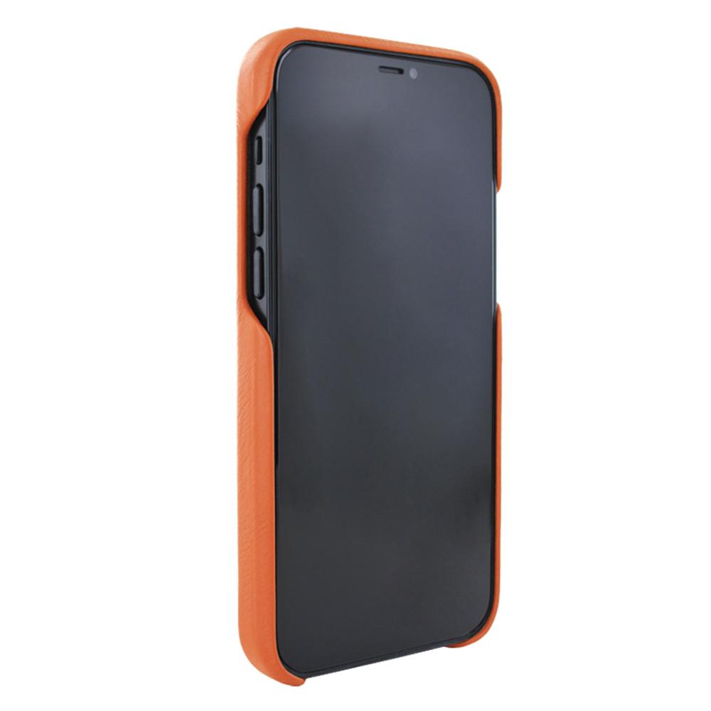 Piel Frama iPhone 12   12 Pro FramaSlimGrip Leather Case - Orange