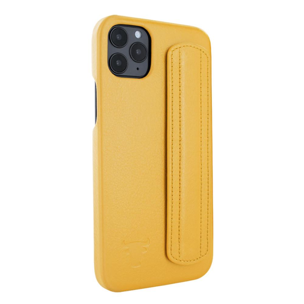 Piel Frama iPhone 12   12 Pro FramaSafe Leather Case - Yellow