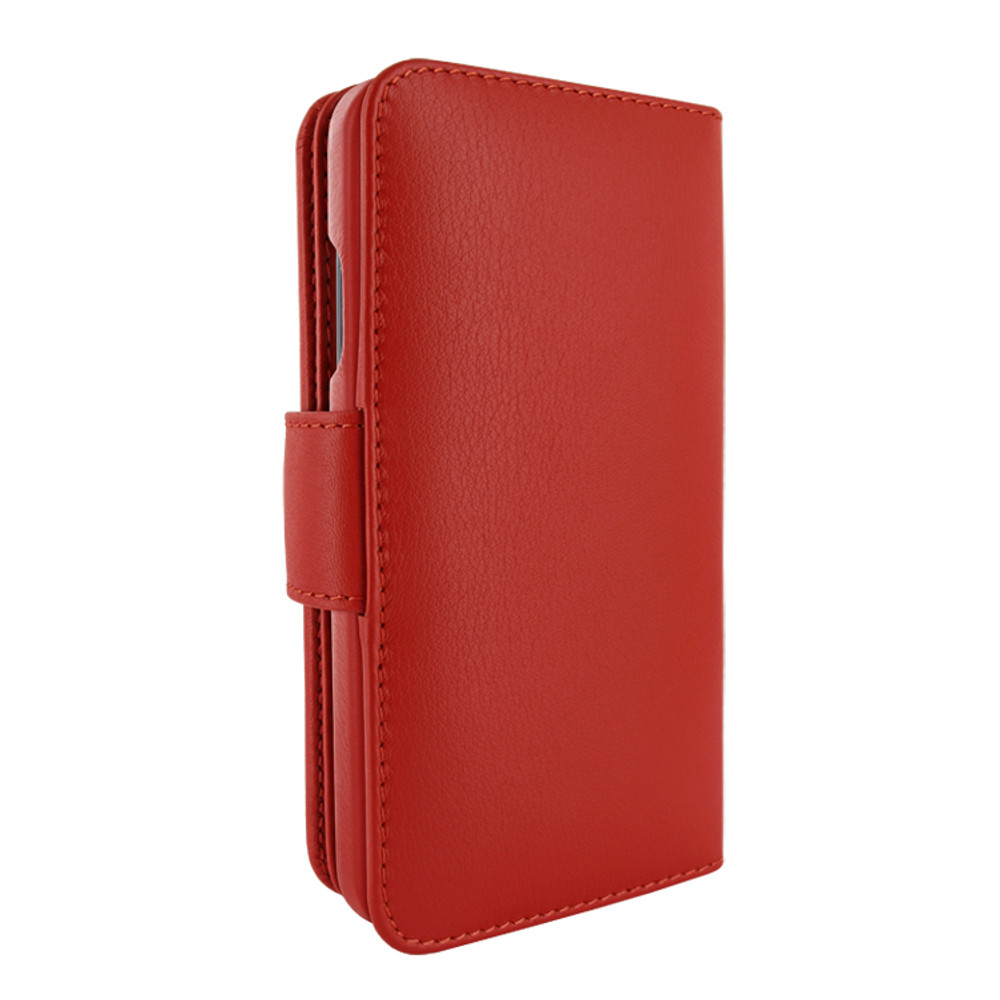 Piel Frama iPhone 12   12 Pro WalletMagnum Leather Case - Red