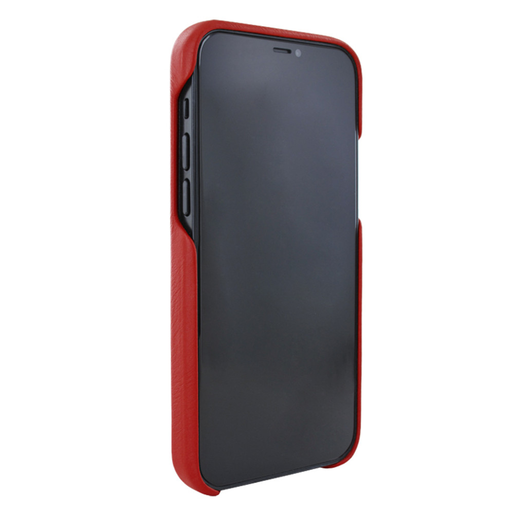 Piel Frama iPhone 12 Pro Max FramaSlimGrip Leather Case - Red Crocodile