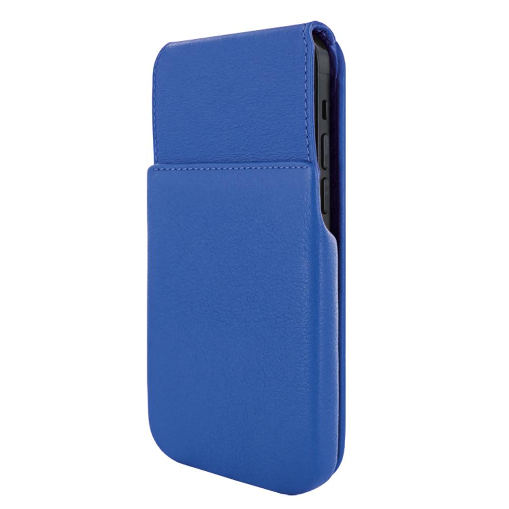 Piel Frama iPhone 12 Pro Max iMagnum Leather Case - Blue